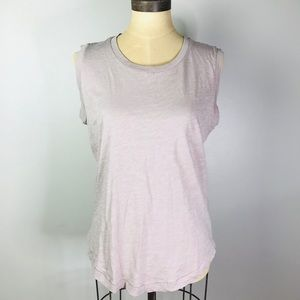 MADEWELL whisper cotton Crewneck muscle tank M